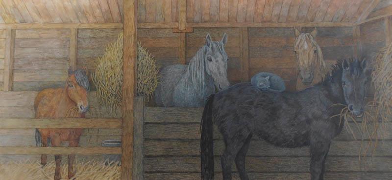 Cloudy Horses