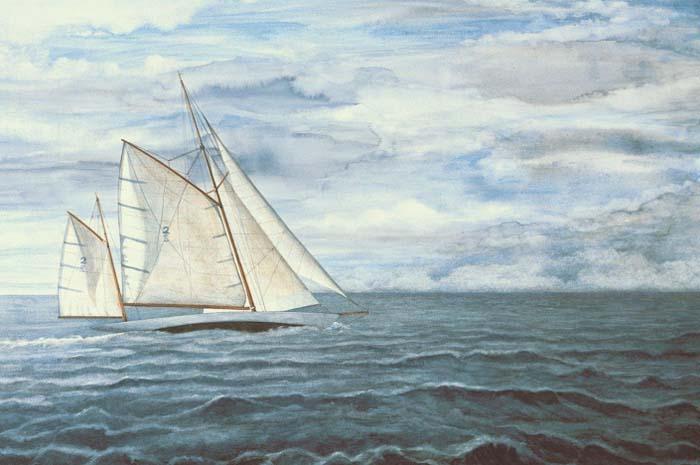 Sailing, Solent