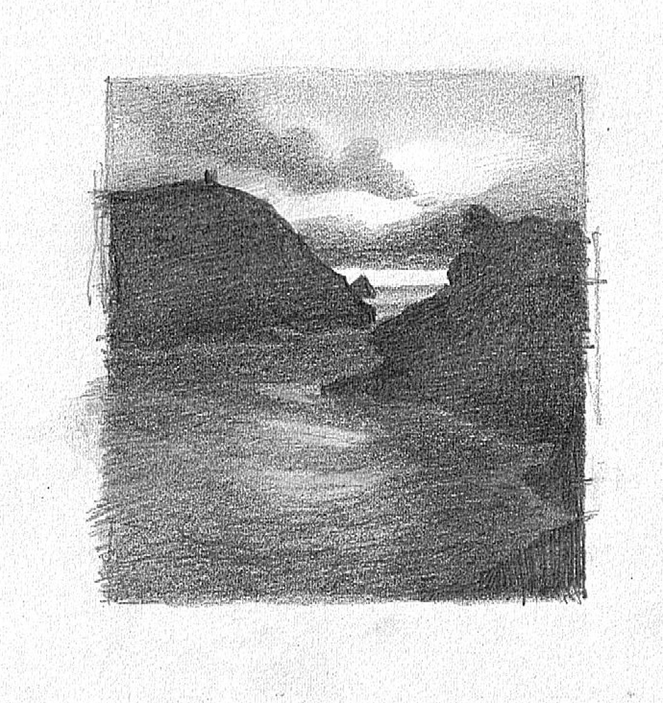 Boscastle working drawing 3-960